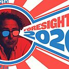 Foresight Is 2020 - Stickers & Greeting Cards by The IPM Leftorium