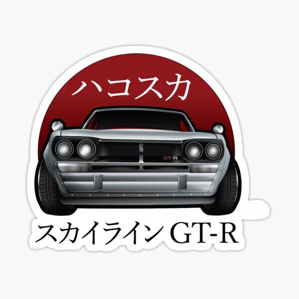 Skyline GT-R Club Shirt Sticker