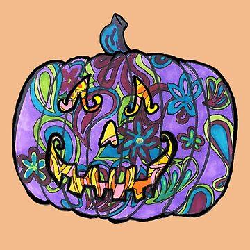 Purple Pumpkin by Creatividad