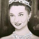 Audrey Hepburn by AbbieWest