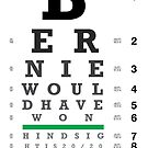 Bernie Would Have Won Eye Chart - Prints & Stickers by The IPM Leftorium