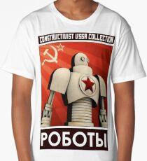 robot ussr steampunk Long T-Shirt