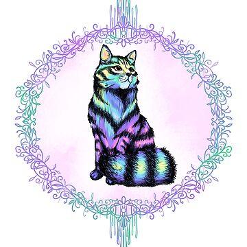 Neon Feline by FuriousWinter