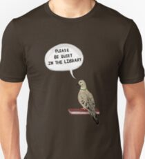Hatoful Boyfriend - Please Be Quiet In The Library (Nageki) T-Shirt