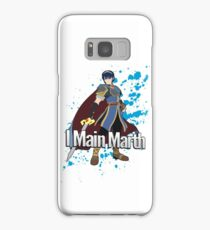 I Main Marth - Super Smash Bros. Samsung Galaxy Case/Skin
