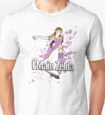 I Main Zelda - Super Smash Bros. T-Shirt