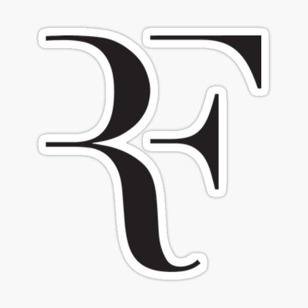 Etiqueta engomada del tenis de Roger Federer Pegatina