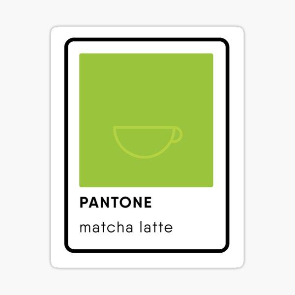 Pantone Matcha Latte Swatch Sticker