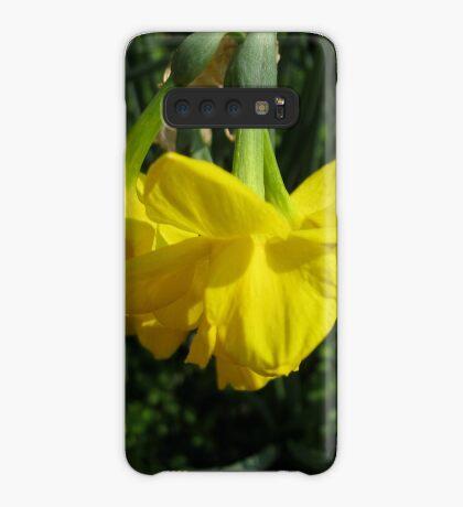 Nickende Narzissen Hülle & Klebefolie für Samsung Galaxy