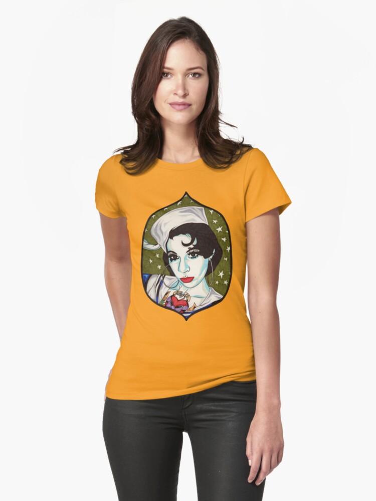 Miss Jennifer t-shirt by Angelique  Moselle