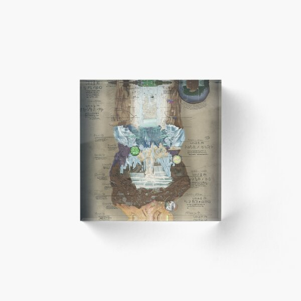 Made in Abyss • Abyss Chart Acrylic Block