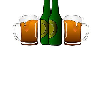 Beer Lovers Gift IPA Hoptimist T Shirt for Fall  by nfarishta
