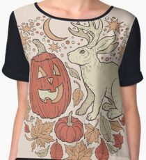 Halloween Friends | Autumn Palette Chiffon Top