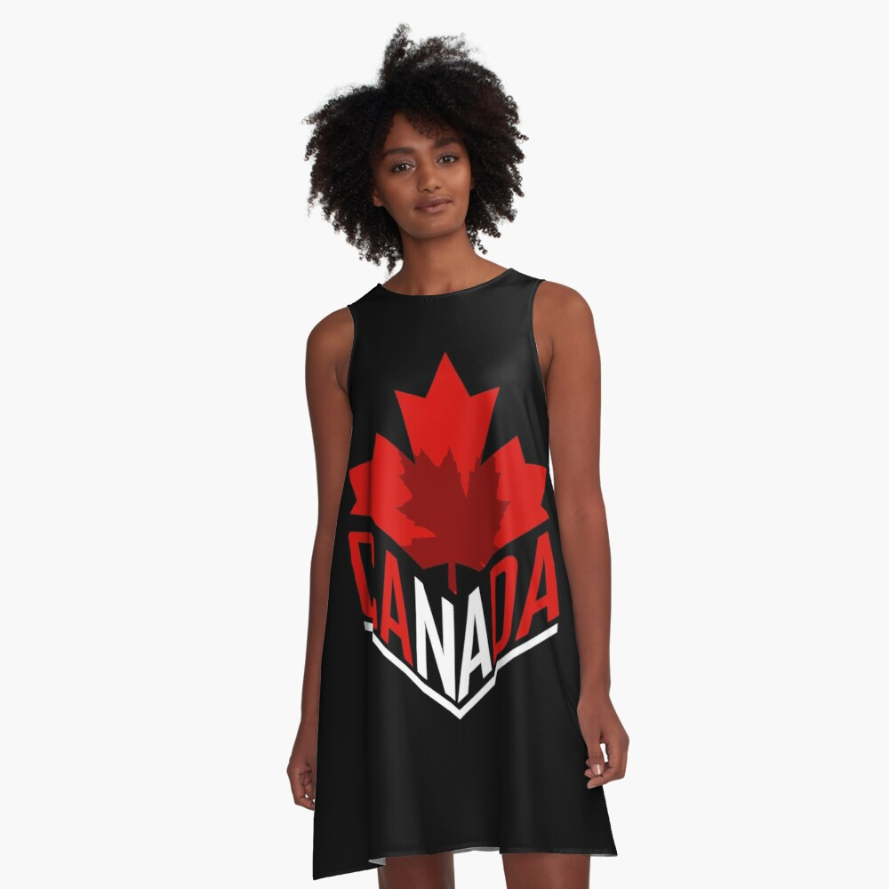 Canada maple leaf A-Line Dress