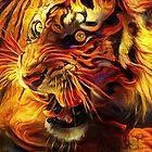 Tiger by DreamGardenArt