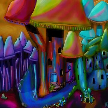 Fungi Forest by mikeymadness