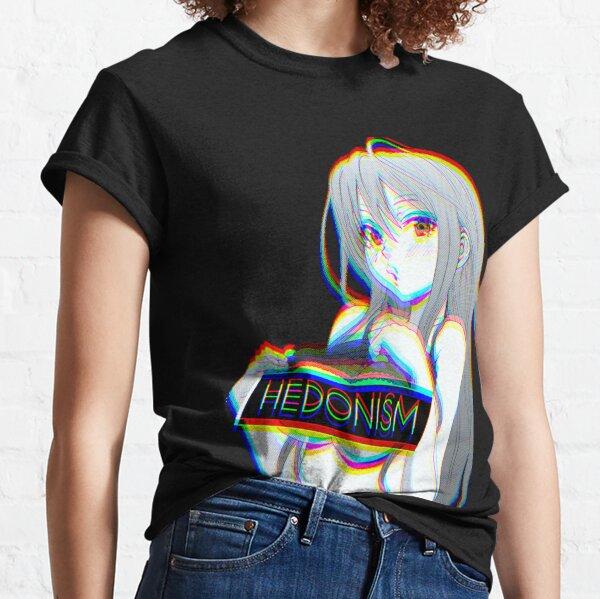 Hedonism Girl Anime Classic T-Shirt