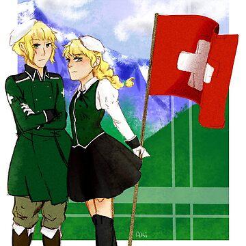 APH Switzerland and Nyo Switzerland by AmeAki