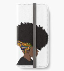 Vinilo o funda para iPhone gran afro