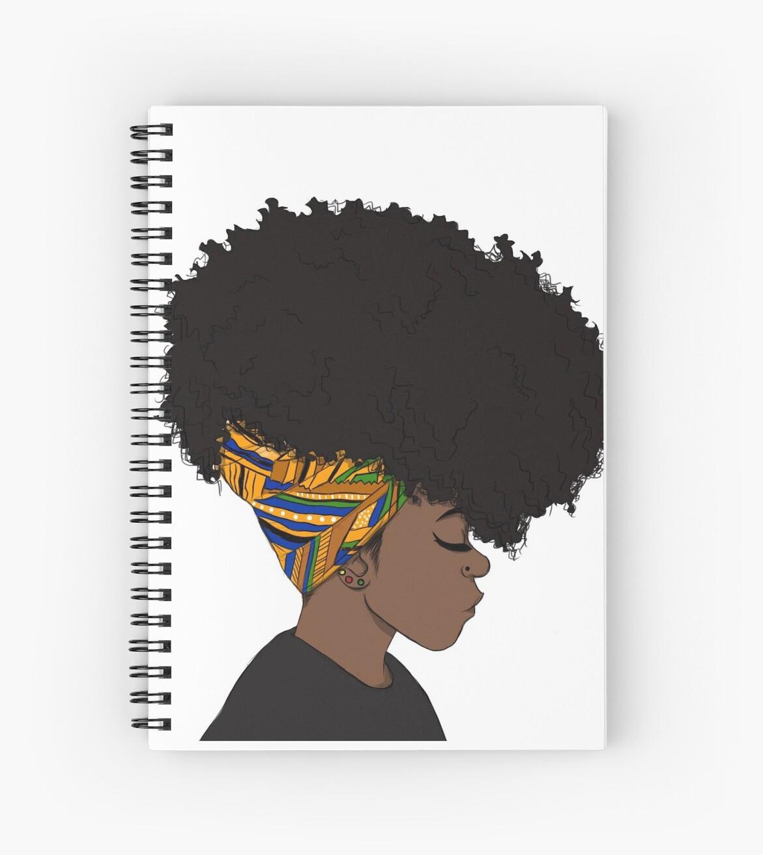 großer Afro von coloured braids