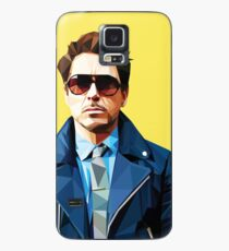Robert Downey Jr - Low Poly Vector Case/Skin for Samsung Galaxy