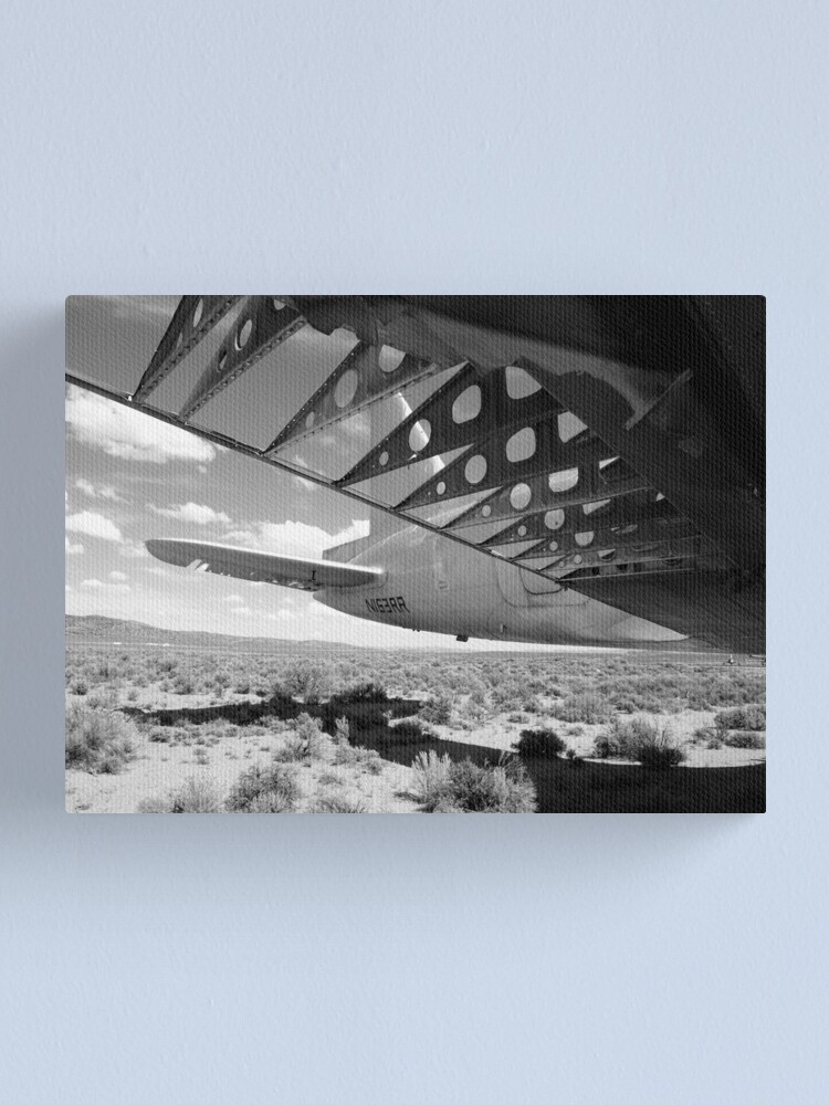 Alternate view of Flaps Down and Out Canvas Print