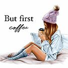 First coffee  by Elza Fouche