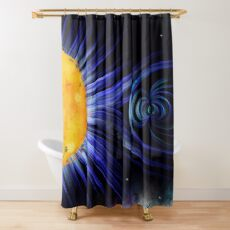 Magnetic Fields Shower Curtain