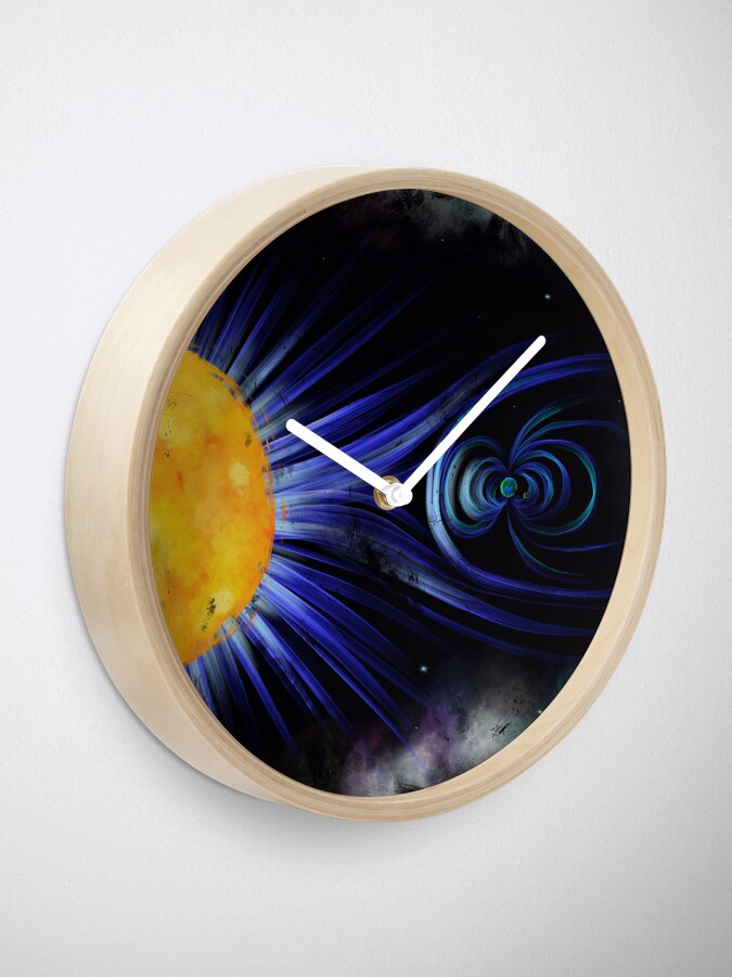 Alternate view of Magnetic Fields Clock