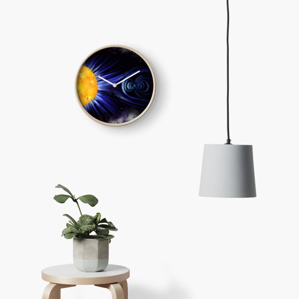 Magnetic Fields Clock