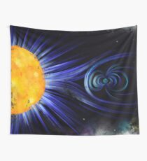 Magnetic Fields Wall Tapestry