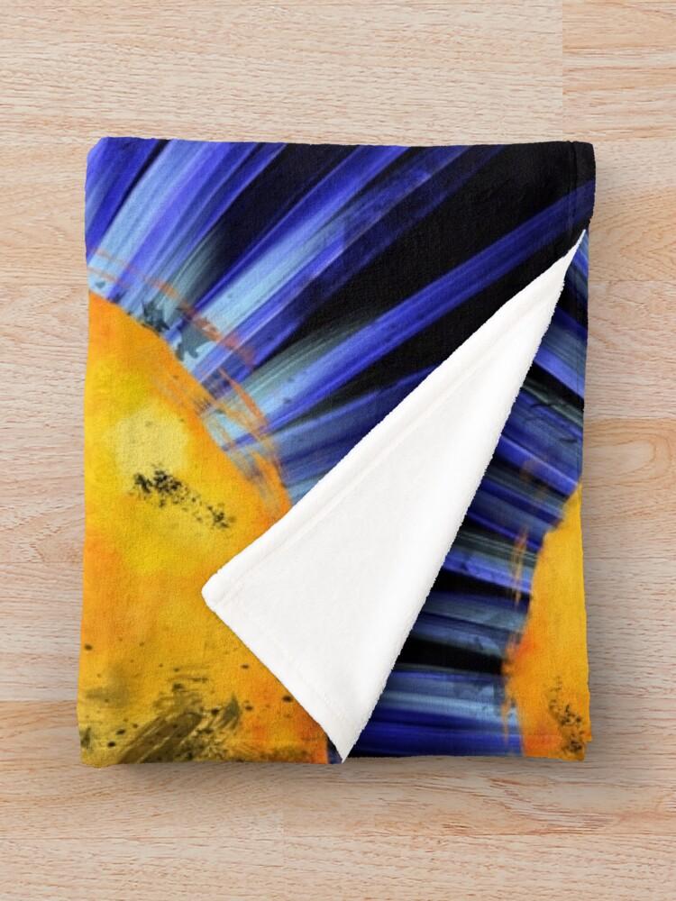 Alternate view of Magnetic Fields Throw Blanket