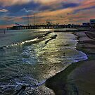 Atlantic City Pier by Morris Klein