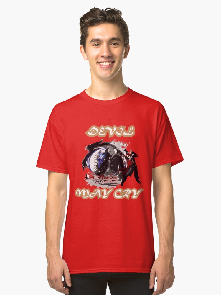 THE DEVIL CAN CRY Classic T-Shirt Front