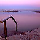 Mona Vale pool in purple by Alex Marks