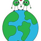 Peas on Earth-For Prints by LeighAth
