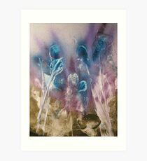 Sapphire Siblings Art Print