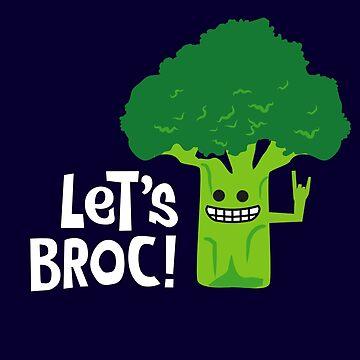 Funny Broccoli - Let's Broc! by propellerhead