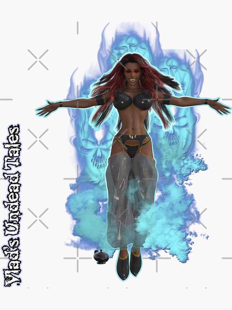 Undead Tales: Vampire Genie In The Lamp by EnforcerDesigns