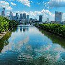 Spring Garden Bridge View I by Morris Klein
