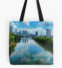 Spring Garden Bridge View I Tote Bag