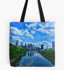 Spring Garden Bridge View II Tote Bag