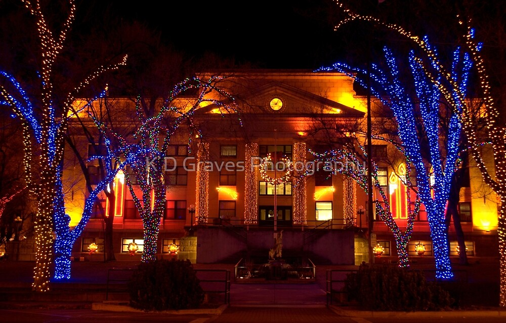 Lights For the Holidays by K D Graves Photography