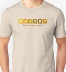 Whisky - It's Elementary! Unisex T-Shirt