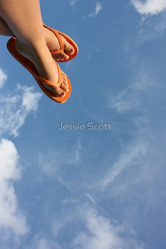 F is for Flipflops! by Jessie Scott