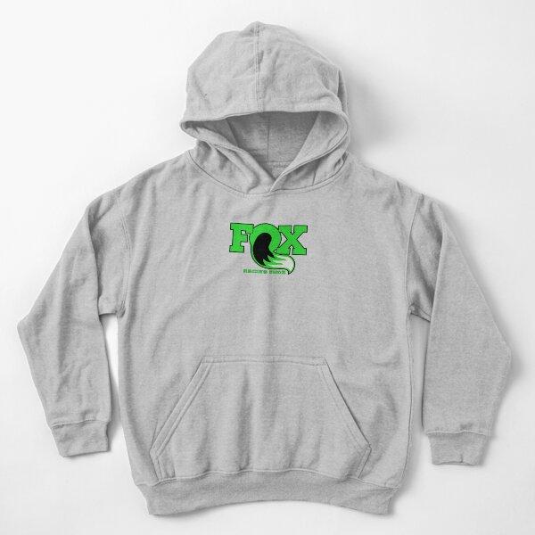 Fox Racing Shox - Verde Sudadera con capucha para niños
