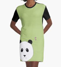 Pandalove in grün T-Shirt Kleid