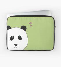 Pandalove in grün Laptoptasche