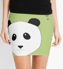 Pandalove in grün Minirock