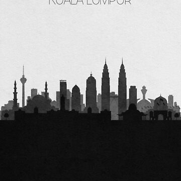 Travel Posters | Destination: Kuala Lumpur by geekmywall